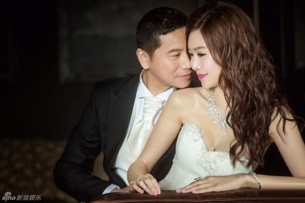 Hoa hậu Hong Kong cưới đại gia sau tin đồn yêu để moi tiền - Hình 1