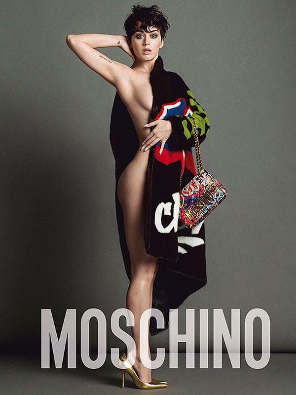 Katy Perry nửa kín nửa hở trong quảng cáo thời trang - Hình 1