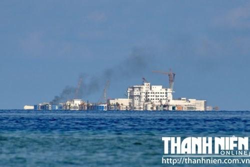 Mỹ không tin tuyên bố ngừng xây đảo của Trung Quốc - Hình 1