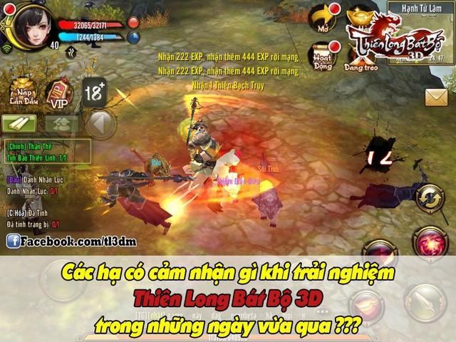 Game thủ Việt nói gì về Thiên Long Bát Bộ Mobile sau Alpha Test - Hình