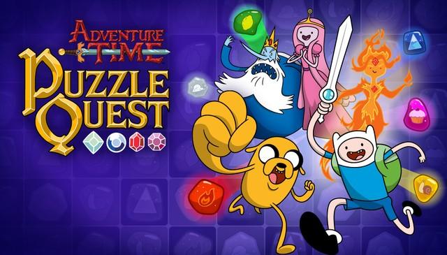 Adventure Time Puzzle Quest - Game hoạt hình chiến đấu match-3 vui nhộn - Hình 1