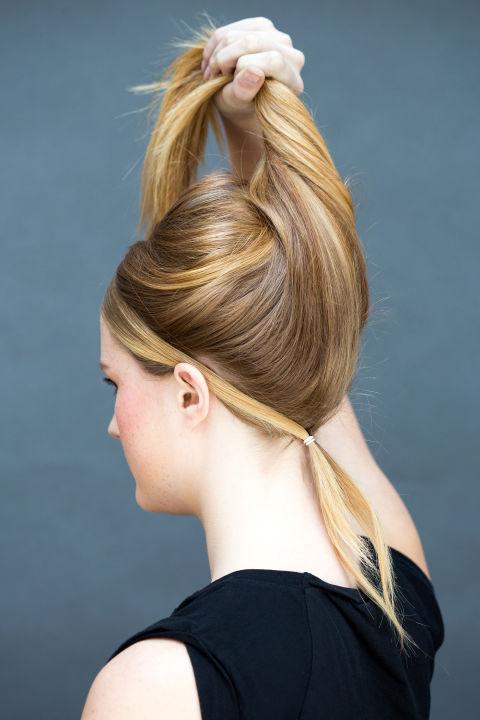 10 gợi ý tạo kiểu tóc đẹp hoàn hảo chỉ trong... vài giây - Hình 28
