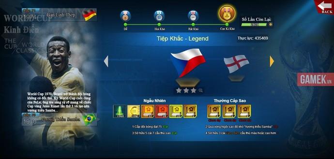 Webgame 433 - Game quản lý bóng đá tung ảnh Việt hoá chi tiết - Hình