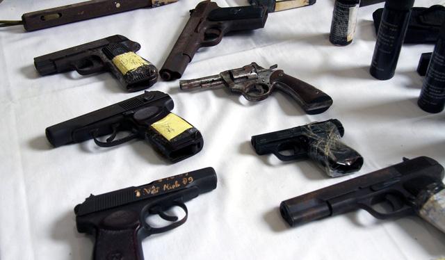 Choáng với kho vũ khí bị 141 Hà Nội thu giữ - Hình 1