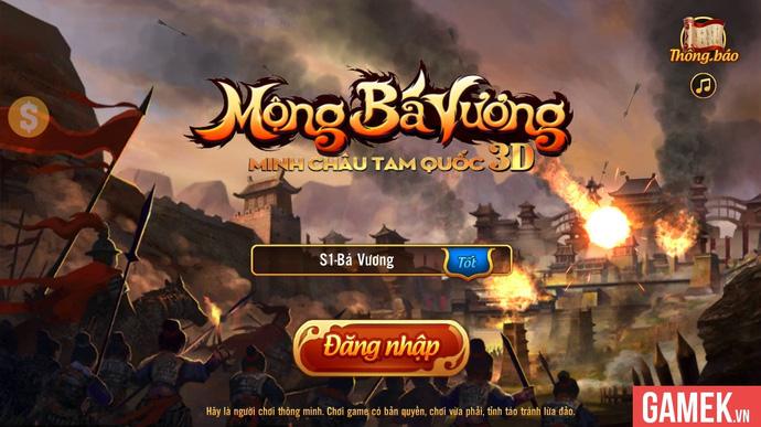 Sờ tận tay Mộng Bá Vương 3D - Con át chủ bài của VTC Mobile trước
