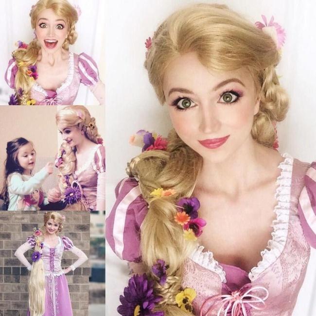 Cô gái chi cả núi tiền để hóa thân thành các nàng công chúa Disney - Hình 10