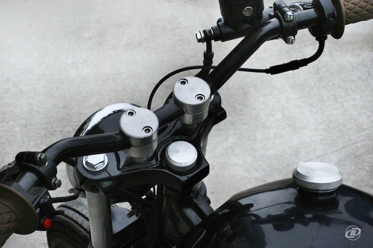 Cận cảnh xế độ Honda CBT125 cực chất tại Hà Nội - Hình 3