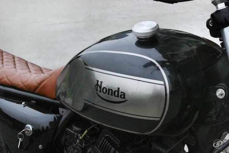 Cận cảnh xế độ Honda CBT125 cực chất tại Hà Nội - Hình 4