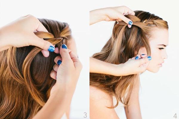 Hướng dẫn các kiểu tết tóc đẹp mà đơn giản - Hình 9