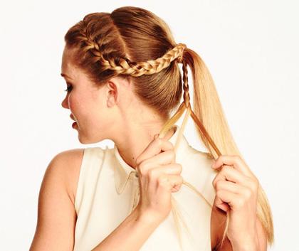Hướng dẫn các kiểu tết tóc đẹp mà đơn giản - Hình 6