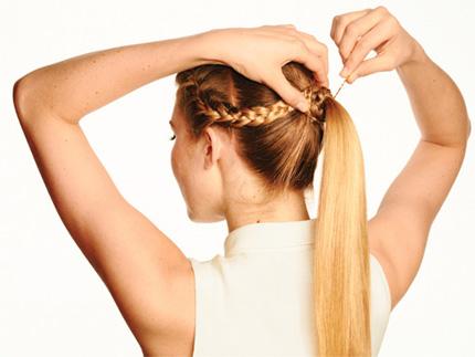 Hướng dẫn các kiểu tết tóc đẹp mà đơn giản - Hình 8