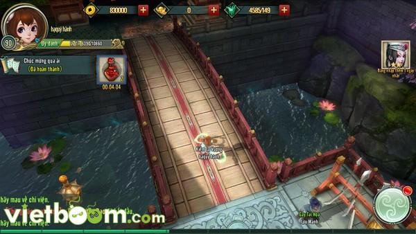 Đồ họa game mobile 3D Võ Lâm Ngoại Truyện chất như thế nào? - Hình