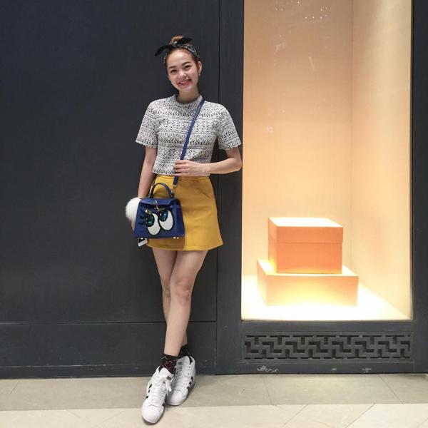 Diện váy tennis đẹp như Minh Hằng, Ngọc Trinh