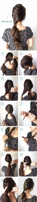 3 kiểu tết tóc mới mẻ giúp bạn đẹp, chàng mê - Hình 3