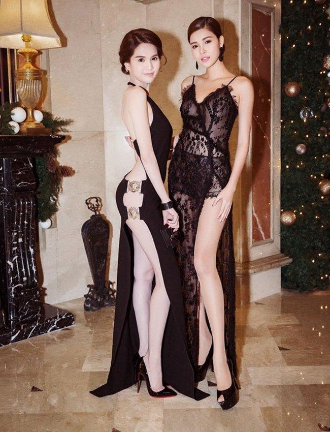 11 mỹ nhân Việt gây tò mò với váy khó mặc nội y - Hình 5