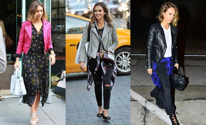 6 item tạo phong cách cho Jessica Alba