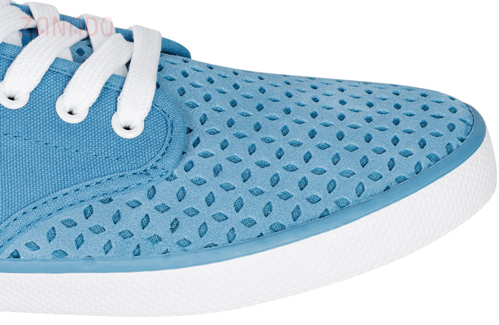 Giày Sneakers nữ QuickFree Pan Leather Perforation W160202 SID47796 - Hình 5