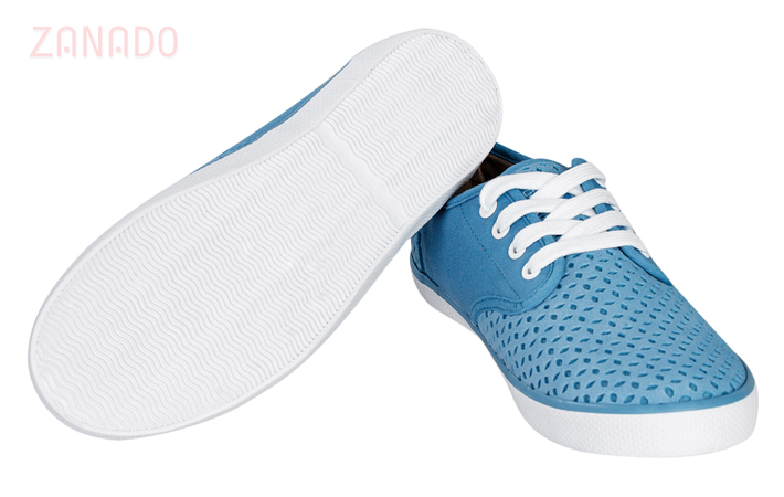 Giày Sneakers nữ QuickFree Pan Leather Perforation W160202 SID47796 - Hình 4