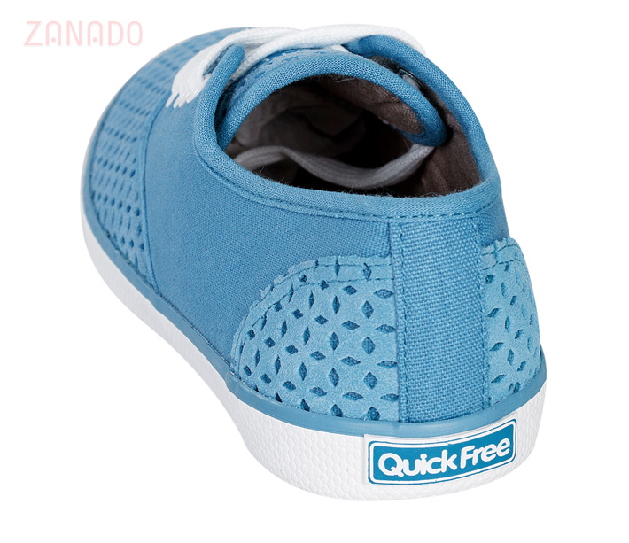 Giày Sneakers nữ QuickFree Pan Leather Perforation W160202 SID47796 - Hình 3