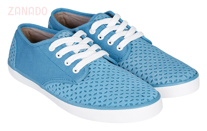 Giày Sneakers nữ QuickFree Pan Leather Perforation W160202 SID47796 - Hình 1