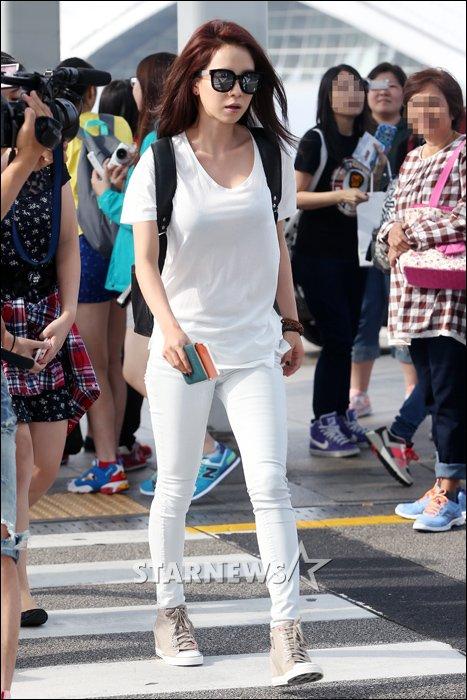 Thoạt nhìn ai mà ngờ những mỹ nhân Hàn này lại lưng dài, chân ngắn