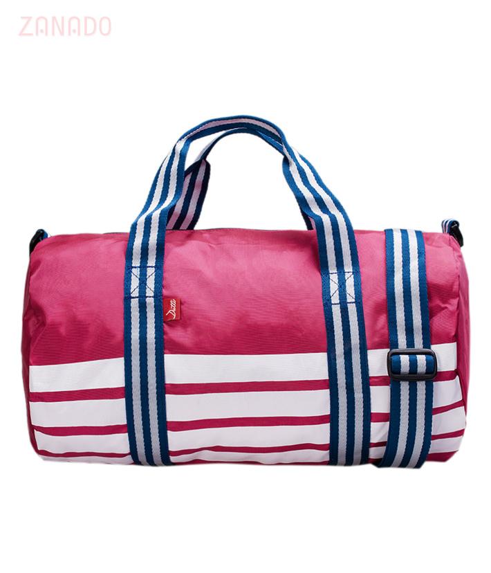 Túi xách thể thao Dutti phối sọc thời trang SID56055 - Hình 6