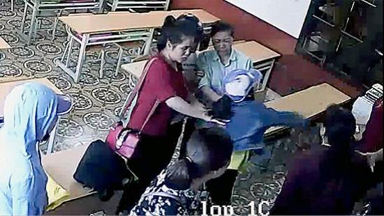 Đã có báo cáo vụ cô giáo bị hành hung trên lớp ở Hải Phòng