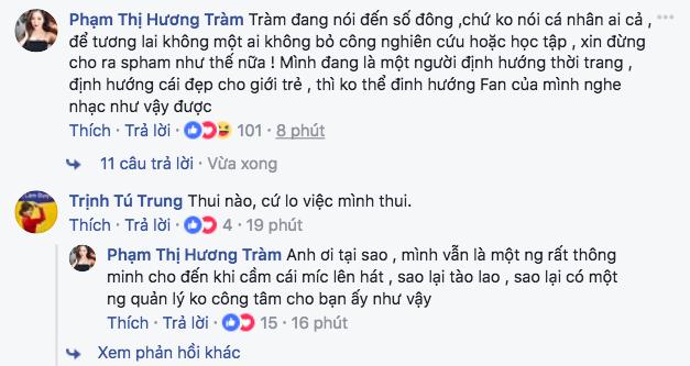 Khán giả đồng tình, đứng về phía Hương Tràm sau status đá đểu giọng hát của Chi Pu!