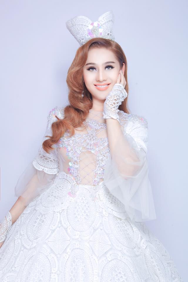 Lâm Khánh Chi hóa công chúa mộng mơ, bảo sao siêu lòng chồng trẻ