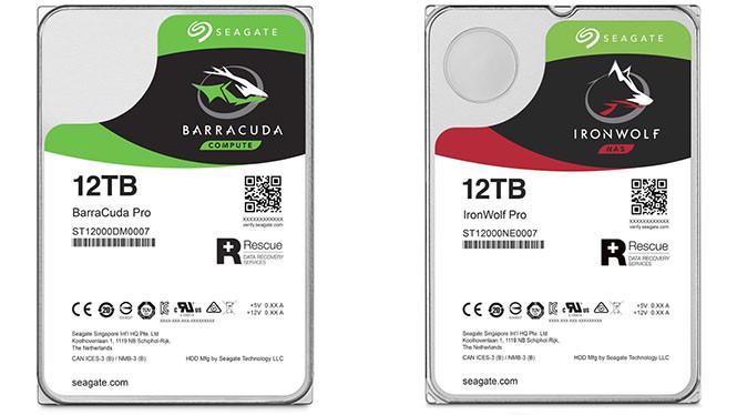 Seagate giới thiệu ổ đĩa cứng dung lượng khủng 12 TB