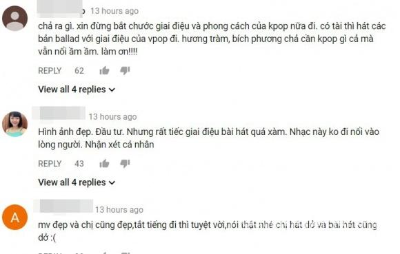 Vừa ra mắt MV mới, Chi Pu bị MC Thùy Minh và cư dân mạng khuyên không nên hát
