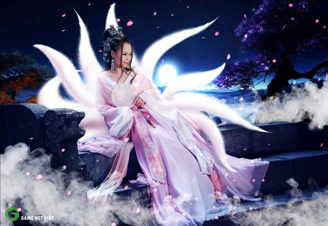 Bộ ảnh cosplay Hồ Ly Ánh Trăng của... nữ IT chuyên thiết kế phòng game