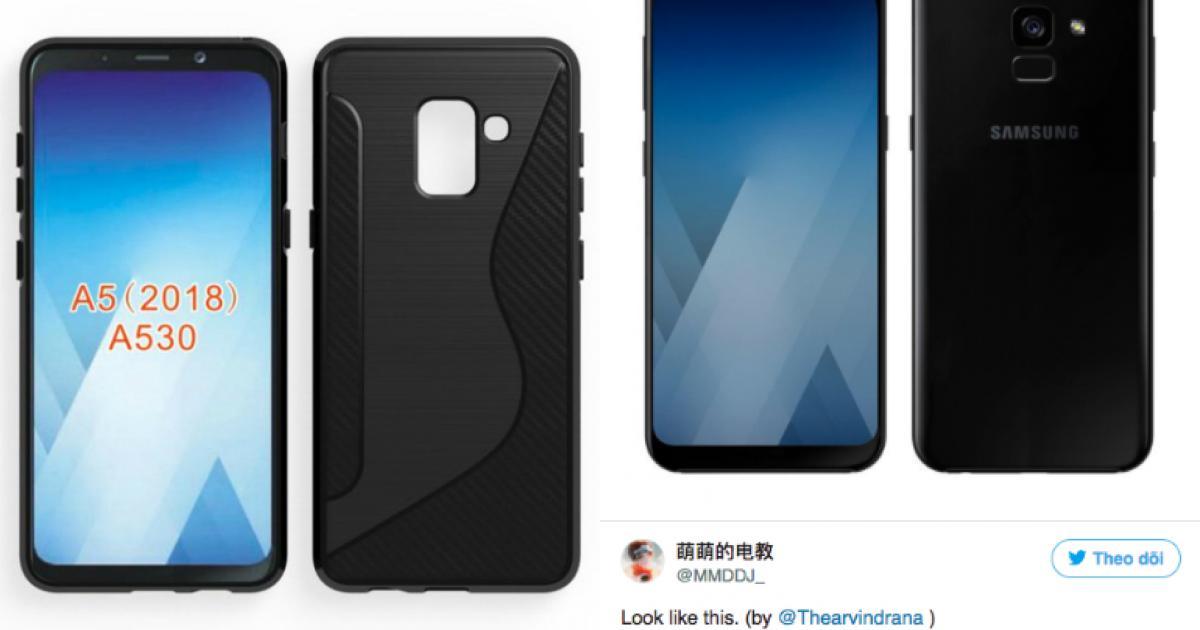 Galaxy A 2018 có màn hình vô cực như Note8