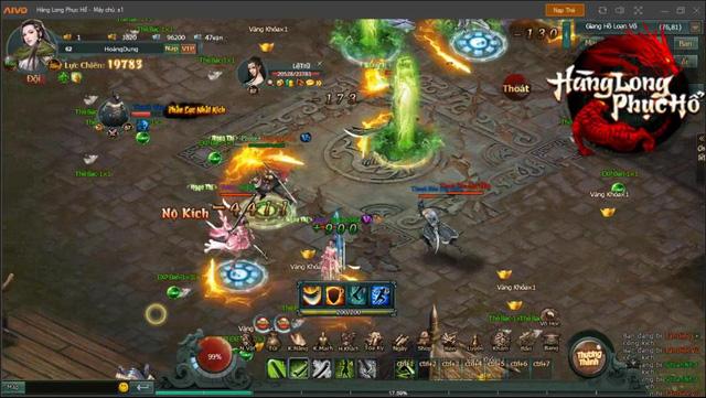 Giang Hồ Loạn Võ - PK cực đã trong Webgame Hàng Long Phục Hổ