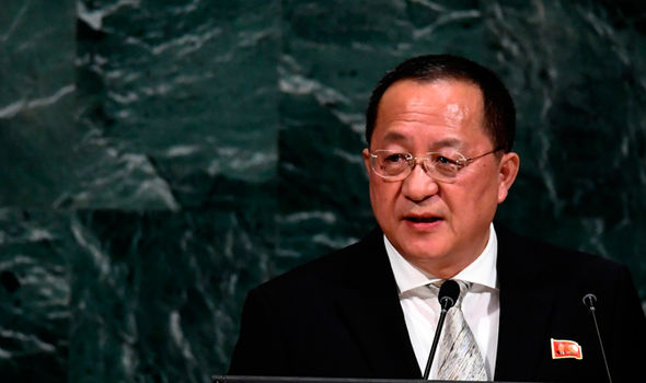 Ngoại trưởng Triều Tiên dọa trút mưa lửa trả đũa Mỹ
