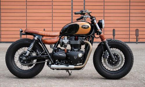 Triumph Bonneville T120 Black độ phong cách bobber khác biệt của Pháp