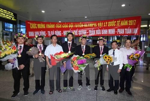 Việt Nam đăng cai tổ chức Olympic Vật lý Châu Á lần thứ 19