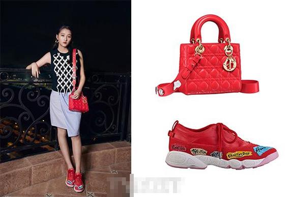 Cô gái đang được tìm kiếm nhiều nhất Trung Quốc có phong cách sành điệu ngang ngửa Phạm Băng Băng
