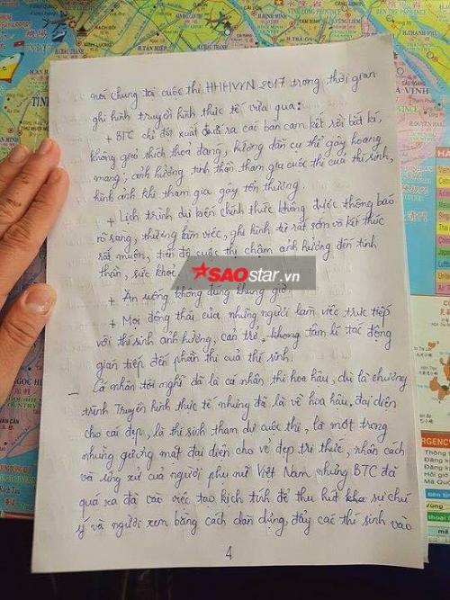 HOT: Mai Ngô tiết lộ lý do bỏ thi Hoa hậu Hoàn vũ Việt Nam 2017 trong bức thư gửi Bộ VH-TT&DL