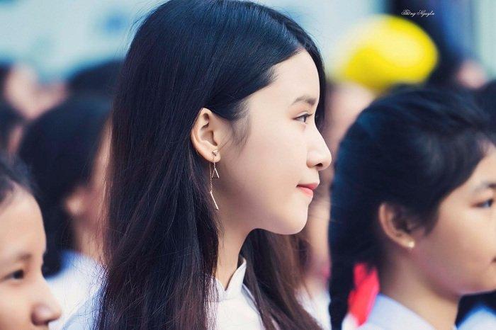 Top 10 cô gái xinh đẹp nhất Việt Nam xinh như thiên thần - Hình 10