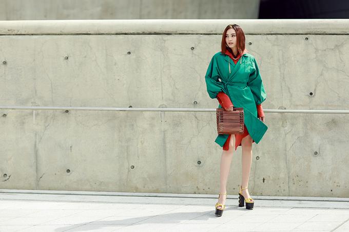 Sao Việt ăn diện nổi bật ở ngày thứ 2 Seoul Fashion Week