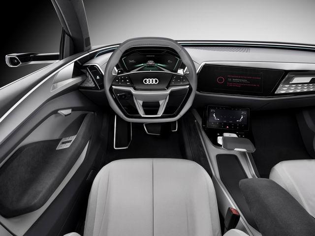 Audi Elaine: Ý tưởng xe tự lái độc đáo