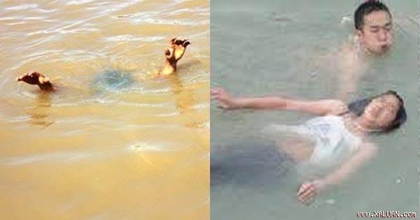 """Bồ và vợ cùng rơi xuống sông, bồ lừa vợ: """"Em có bầu rồi, để anh ấy cứu em trước"""""""