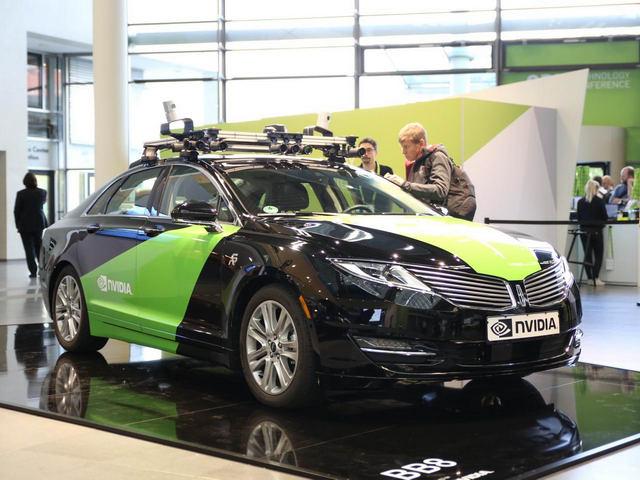 Xe tự lái sẽ ứng dụng công nghệ từ Nvidia