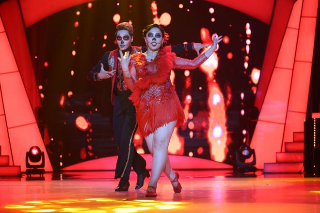 Mỹ nữ trăm ký cực xinh đẹp của Bước nhảy ngàn cân suýt bị loại vì chỉ giảm 2 lạng!