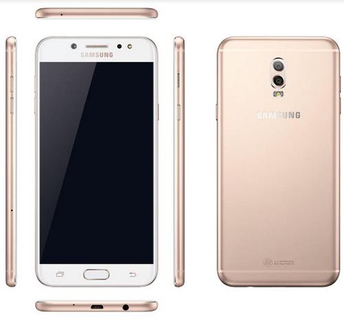 Samsung trình làng Galaxy J7+, có camera kép chụp xóa phông