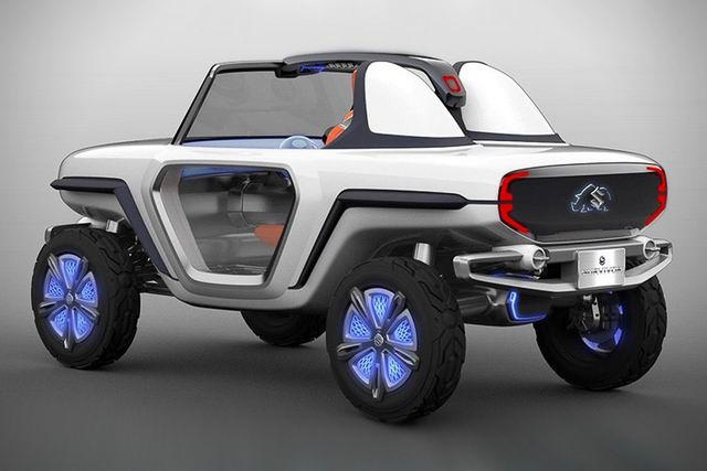 Suzuki e-Survivor lộ diện, sẽ ra mắt ở Tokyo Motor Show 2017