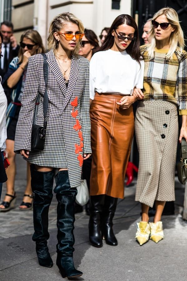 Thùy Trang xuất hiện trên Vogue nhờ street style ấn tượng