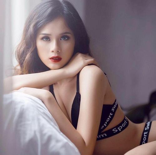 Cận cảnh nhan sắc cô gái tuyên bố dự thi Hoa hậu hoàn vũ để kiếm được nhiều tiền