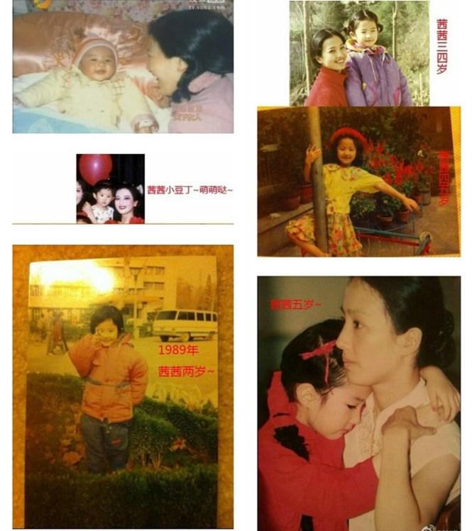 Loạt ảnh chứng minh Lưu Diệc Phi xinh đẹp từ tấm bé